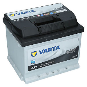 varta 12v 41 ah 360a en a17 black dynamic autobatterie. Black Bedroom Furniture Sets. Home Design Ideas