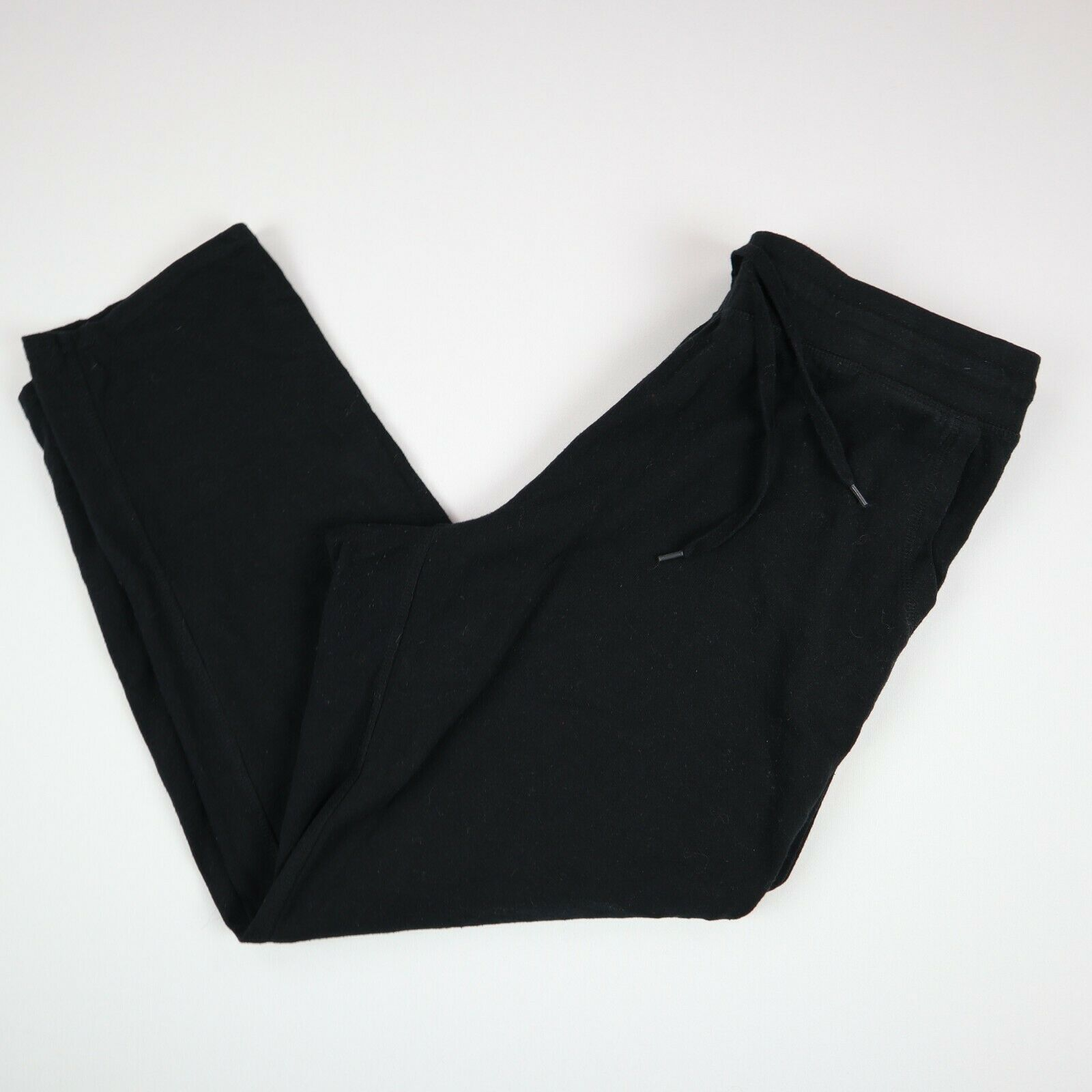 Champion Womens Joggers Running Bottoms Used Vintage Track Pants Black XL