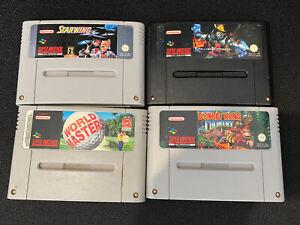 Super Nintendo SNES games Bundle