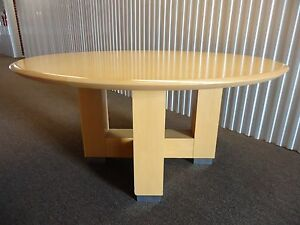 Steelcase Convene Round Conference Table Or Desk Table With X - 60 round conference table