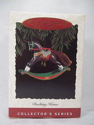 Hallmark Ambassador 1980 Rocking Horse Ornament NB