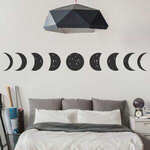 Vinilos Decorativos Planetas.Detalles De Luna Llena Vinilos Fase Lunar Pegatina Decorativos Pared Espacio De Planetas