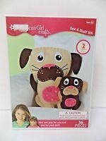 American Girl Crafts Sew & Stuff Kit Stuffed Dogs
