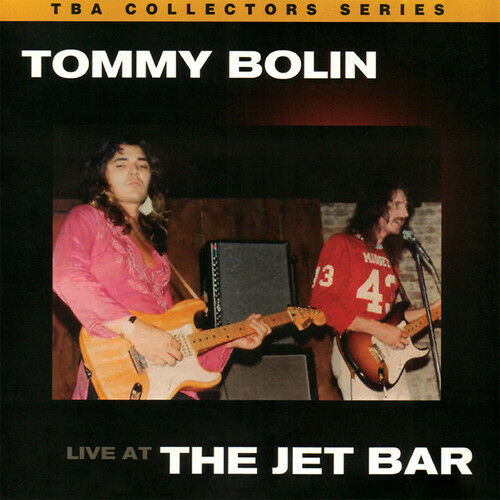 Tommy Bolin - Live At The Jet Bar [New CD] Manufactured On Demand