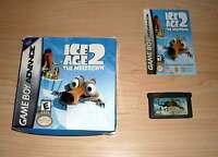 Nintendo GameBoy Advance - Ice Age 2 - The Meltdown mit Anleitung - Game Boy GBA