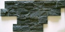 ROYAL BLACK ABSOLUT STACKED NATURAL STONE FOR WALLS BACKSPLASH ROCK PANEL