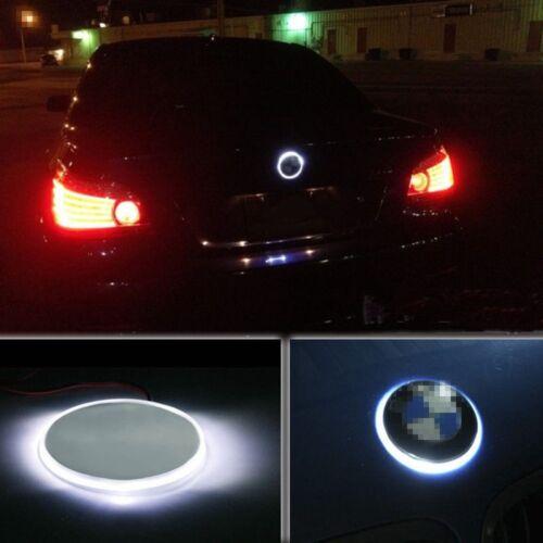 82mm Car Badge Logo Emblem LED Background Light For BMW 1 3 5 7 Series X3//5//6 RH