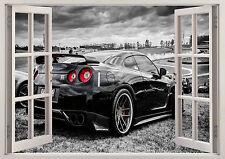 NISSAN SKYLINE GTR NISMO CAR 3D EFFECT WINDOW WALL STICKER POSTER VINYL ART 99