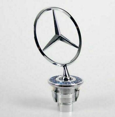 Mercedes Bonnet Raised Star Emblem Badge with Crest C E S CLK Class A2108800186
