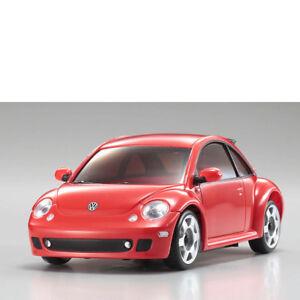 MINI-Z-Carroceria-1-24-mr-03-VW-NEW-BEETLE-TURBO-S-Rojo-Kyosho-mzp-130-r-704118