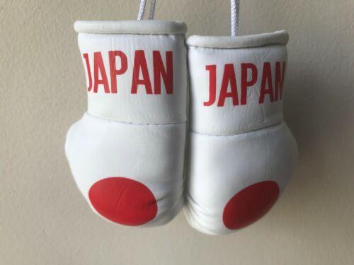 JAPAN flag Mini Boxing Gloves for Car Truck Bus Jeep SUV RV Decor Rear-View Mirr