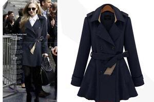 Caricamento dell immagine in corso trench-giacca-donna -doppiopetto-soprabito-cappotto-copri-spalle- aea87d2ee8c