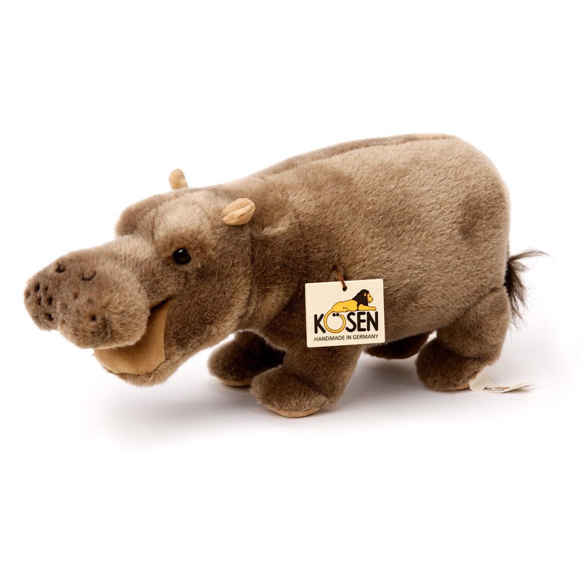 Hipopótamo - Coleccionable Juguete de Peluche - Kosen Kösen - 1925-28cm