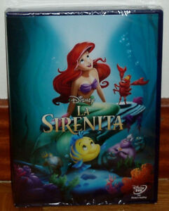 THE-LITTLE-MERMAID-DISNEY-CLASSIC-NUMBER-28-DVD-NEW-SEALED-ANIMATION-UNOPENED