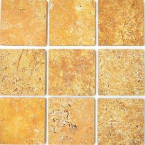 Naturstein-Wand-Boden-Fliese-Gold-Antique-Travertine-Marmor-F-45-51010