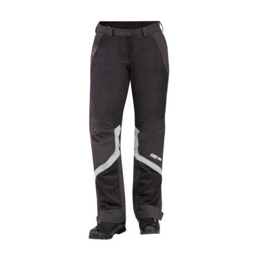 NWT Can-Am Spyder Ladies Summer Mesh Motorcycle Riding Pants-Grey