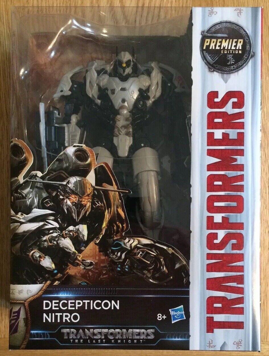New Transformers Last Knight Premier Edition Decepticon Nitro (2016) UK Seller