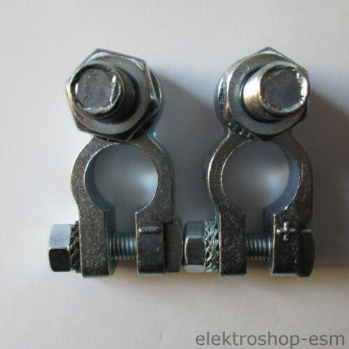 Batterieklemmen Polklemmen Autobatterieklemmen Batteriepolklemmen Bolzen M 10