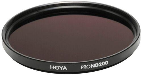 7 parada de densidad neutra Genuine Hoya 58 mm Pro ND200 Filtro Multi-Coated De Vidrio