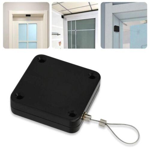 Door Closer Automatic Adjustable Spring Free Punch Sensor Hinge Home Auto Hinger