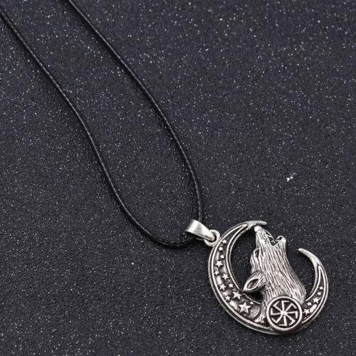 Halskette Celtic Knot Amulet Wildschwein Wikingerschmuck Anhänger Rabe Vintage
