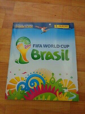Panini World Cup 2014 Brazil empty album NEW complete set of 640 stickers