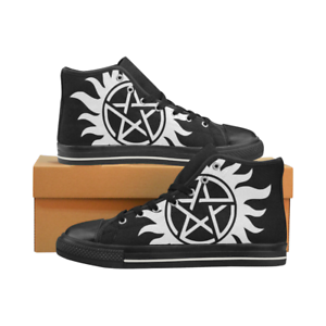 The Supernatural Night Light Casual Canvas Shoes Unisex Ankle Lace-Up Sneakes