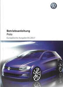 VW-POLO-6-Betriebsanleitung-2017-Bedienungsanleitung-Handbuch-Bordbuch-BA