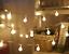 SERIE-LUCI-100-LED-LAMPADINE-FESTE-PARTY-DECORAZIONI-ADDOBBI-NATALE-BIANCO-CALDO miniatura 2