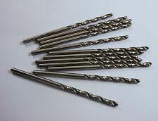 "3 Pcs Carbide Jobber Drills #31 118° 2FL 1-1//4/"" LOC x 2-1//4/"" OAL"
