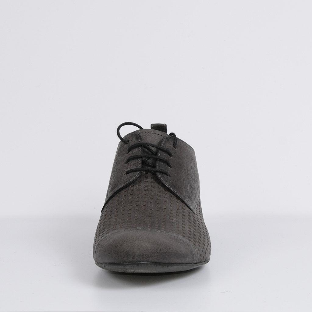 Damen Leder Halbschuhe Schnürer Schuhe Grau Freizeit Neu 37 Schuhe Schnürer d657e8