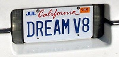 """DREAM V8"" CA license plate  +rights *Reduced*"