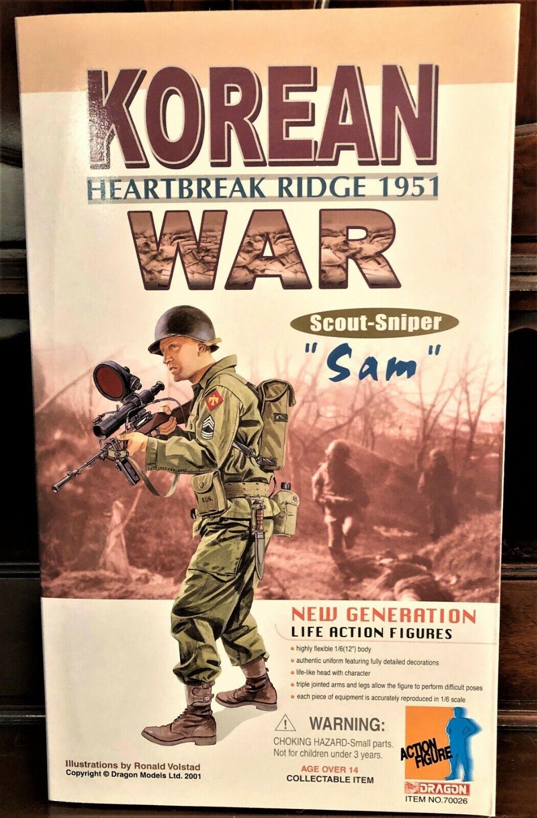 NRFB Korean War  Heartbreak Ridge 1951 Scout-Sniper  Sam