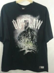 f3011534 Image is loading WWE-Undertaker-The-last-outlaw-shirt-xxl-G-