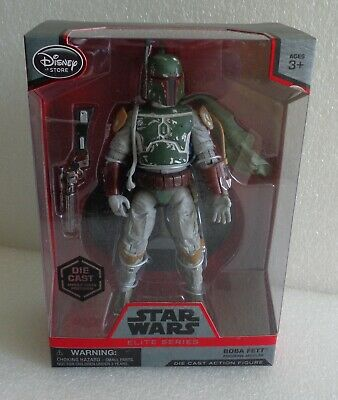 Boba Fett Action Figure Star Wars Die Cast