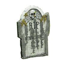 Scary Tomb krasser alter Grabstein Halloween Party Schocker mit Moos Andeutung