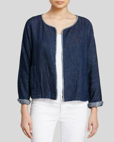 Organic Cotton Denim Jacket Eileen Fischer