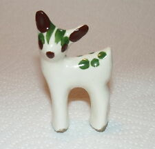 VTG Rio Hondo Pottery Hand Paint Mini Deer Figurine California Ceramic Miniature