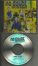 Gwen Stefani NO DOUBT Settle Down w/ RARE SINGLE Version PROMO DJ CD single 2012