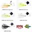 Strike King Buzzbait Topwater Mini Pro-Buzz 1//8oz Pick Any Color 18PBM
