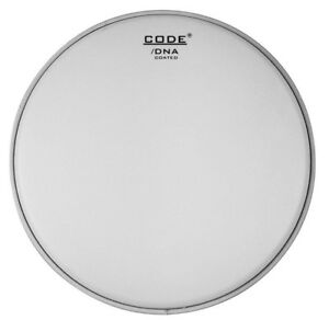 code dna coated single ply drum head 6 8 10 12 13 14 15 16 18 pack set ebay. Black Bedroom Furniture Sets. Home Design Ideas