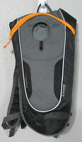 Outdoor Products Kilometer 8.0 Hydration Backpack Black Grey Hiking Cycling