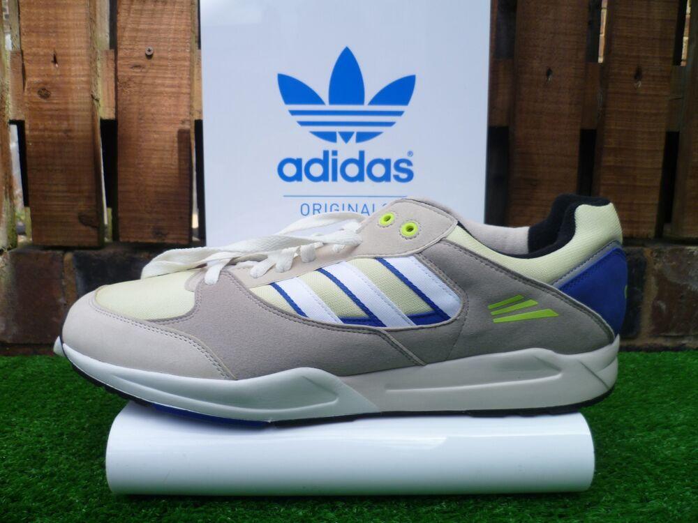 Vintage Adidas Tech Super 80 S Casuals UK13 Entièrement neuf dans sa boîte 2012 très rare Garniture LOOK-