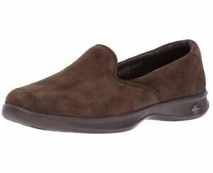 Skechers-GO-STEP-Lite-Indulge-GOGA-Foam-Women-039-s-Shoe-Slip-On-Comfort-Flats-14718