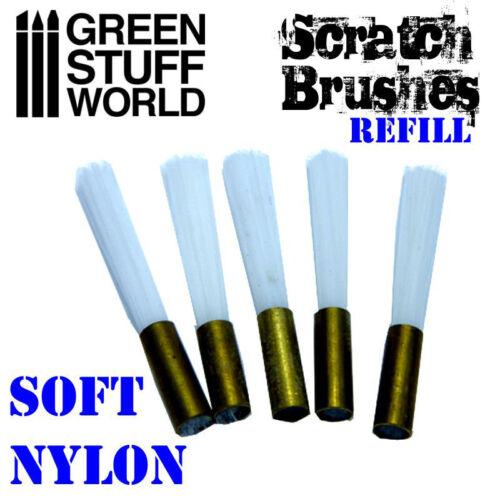 Scratching-Pinseln Ersatz weich Nylon Reinigung Strukturwalze Verschleißeffekt