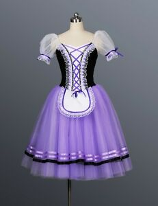 Details About Professional Long Napoli Giselle Tarantella Cinderella Peasant Ballet Tutu Mto