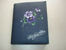 Postcard album. 204 postcards, mostly 1950s-70s. UK locations, childrens cards..