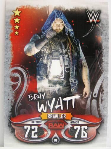 #091 Bray Wyatt-Live 2018 Slam Attax