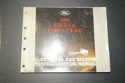 1995 Ford F/B-700 F-800 FT-900 EVTM Wiring Diagrams Repair ...