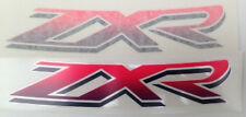KAWASAKI ZXR750 ZXR750J Tanque de Gasolina calcomanías X 2